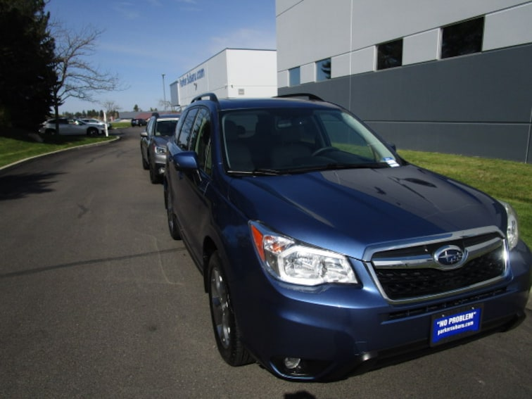 Used 2016 Subaru Forester 2.5i Touring SUV for sale in Coeur d'Alene