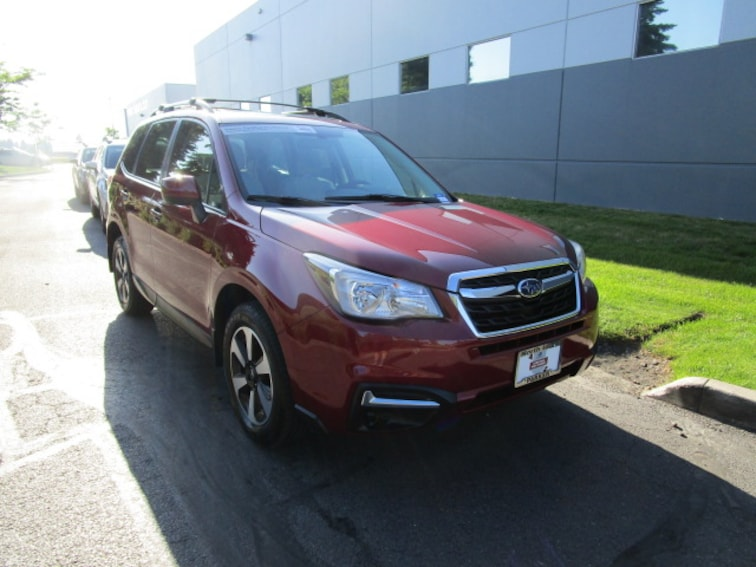 Certified Pre-owned 2018 Subaru Forester 2.5i Premium SUV Coeur d'Alene, ID