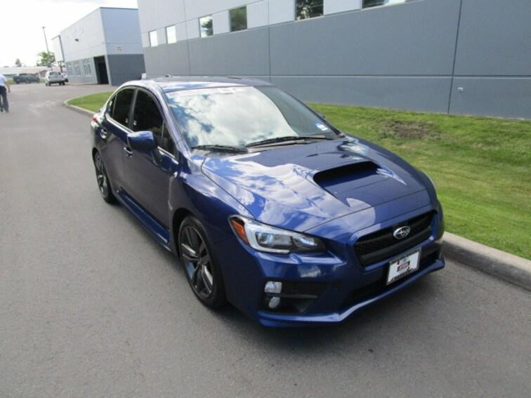 Certified Pre-owned 2016 Subaru WRX Limited Sedan Coeur d'Alene, ID