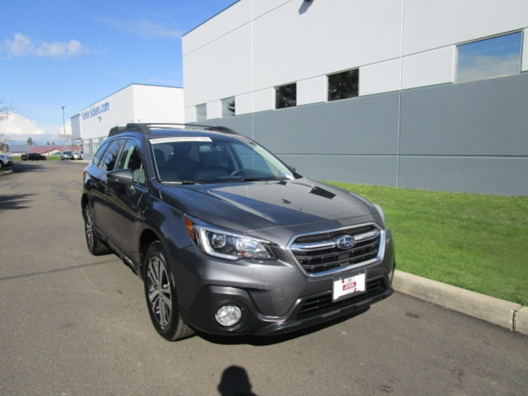 Certified Pre-owned 2018 Subaru Outback 2.5i Limited SUV Coeur d'Alene, ID