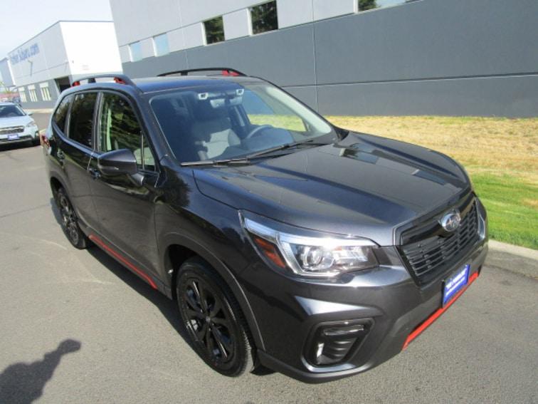 New 2019 Subaru Forester Sport SUV Coeur d'Alene