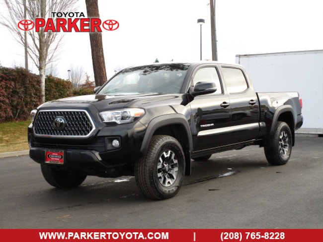 Certified 2018 Toyota Tacoma TRD Off-Road L/B w/ Technology Pkg Truck Double Cab Coeur d'Alene, ID