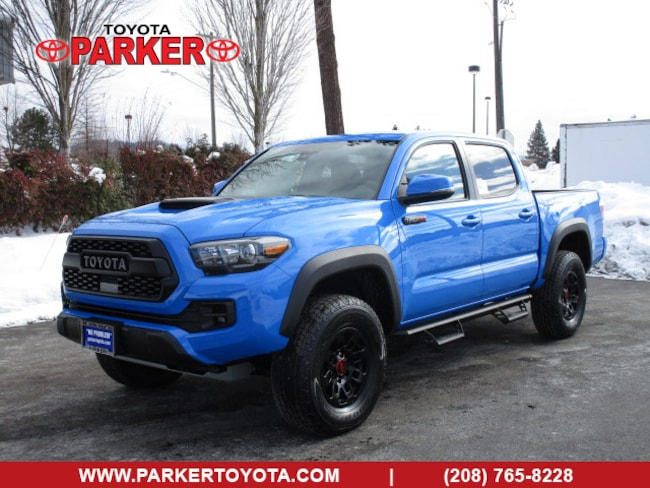 New 2019 Toyota Tacoma Double Cab TRD Pro Truck Double Cab Coeur d'Alene, ID