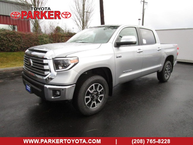 New 2019 Toyota Tundra CrewMax Limited TRD Off-Road Truck CrewMax Coeur d'Alene, ID