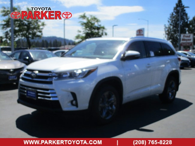 New 2019 Toyota Highlander Hybrid Limited Platinum For Sale In Coeur