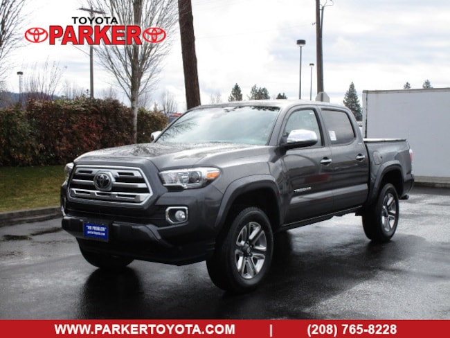 New 2019 Toyota Tacoma Double Cab Limited Truck Double Cab Coeur d'Alene, ID