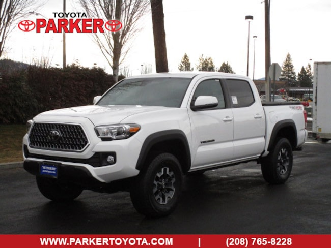 New 2019 Toyota Tacoma Double Cab TRD Off-Road w/ Technology Pkg Truck Double Cab Coeur d'Alene, ID