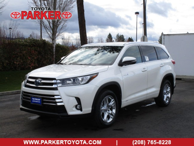 New 2019 Toyota Highlander Hybrid Limited For Sale In Coeur D Alene