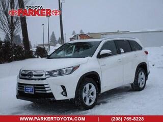 New 2019 Toyota Highlander Hybrid Limited  SUV