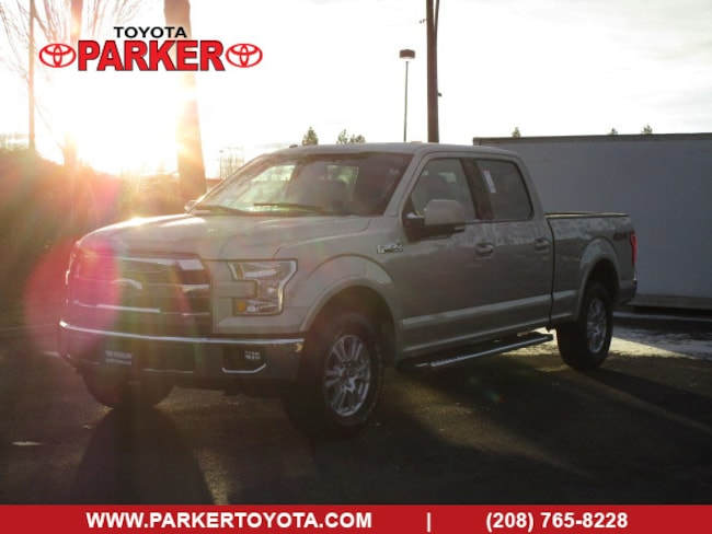 2017 Ford F-150 SuperCrew Lariat Truck SuperCrew Cab