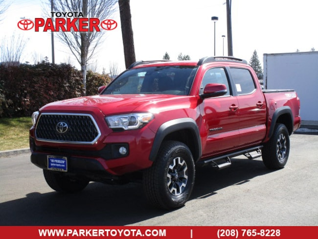 New 2019 Toyota Tacoma Double Cab TRD Off-Road w/ Tech Pkg Truck Double Cab Coeur d'Alene, ID