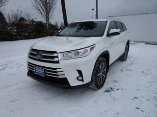 New 2019 Toyota Highlander Hybrid XLE SUV for sale Philadelphia