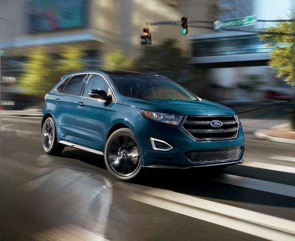 Comfortable And Spirited Handling The Ford Edge