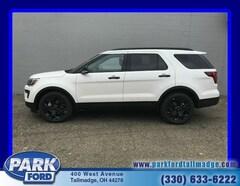 New 2019 Ford Explorer Sport SUV near Akron, Ohio