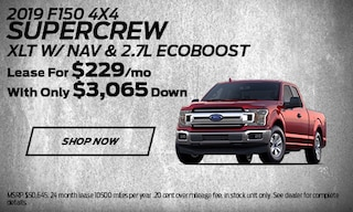 2019 F-150 SuperCrew Lease Offer
