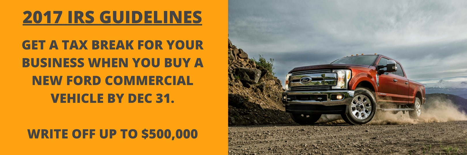 How To Get A Free Truck Using Section 179 Park Ford Of