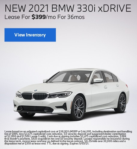 New 2021 BMW 330i xDrive