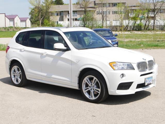 2013 BMW X3 AWD  Xdrive28i Heated Leather NAV SAV