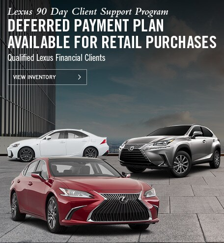 Lexus 90 Day Deferral