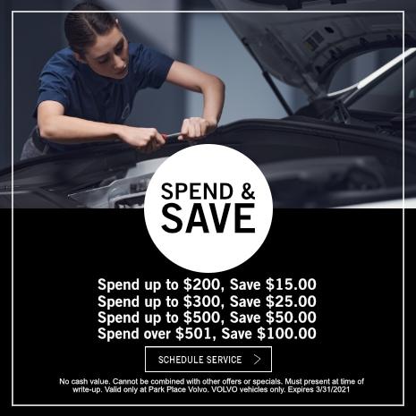 Spend & Save Volvo