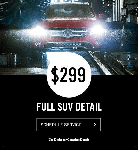Mercedes-Benz Full SUV Detail