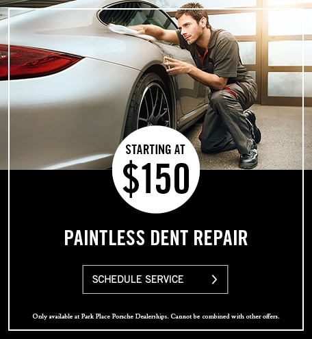 Porsche Paintless Dent Repair