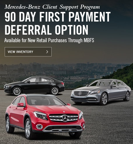 Mercedes-Benz 90 Day Deferral