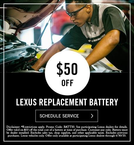 Lexus Battery Special