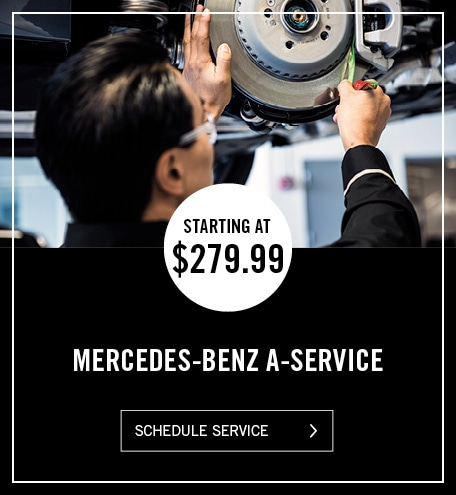 Mercedes-Benz A-Service