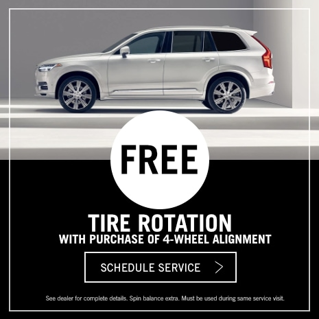 Volvo Tire Rotation