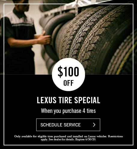 Lexus Tire Special