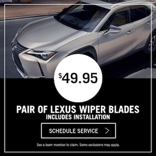 Lexus Wiper Special