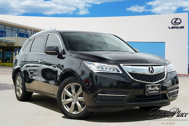 2016 Acura Mdx For Sale >> Used 2016 Acura Mdx For Sale At Park Place Lexus Plano Vin
