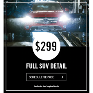 SUV Detail Special