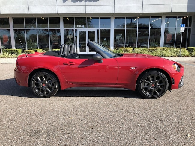 New 2019 Fiat 124 Spider Abarth For Sale At In Wesley Chapel Fl