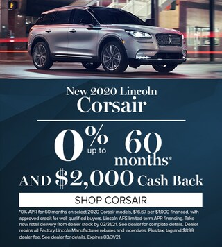 New 2020 Lincoln Corsair
