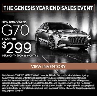 New 2019 Genesis G70