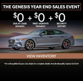 The Genesis Year End Sales Event