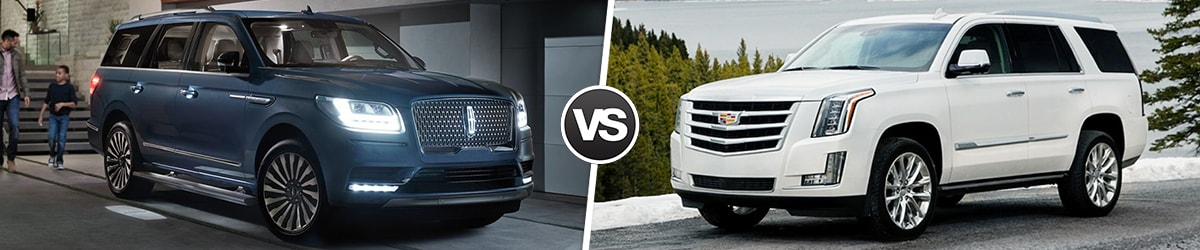 2019 Lincoln Navigator Comparison