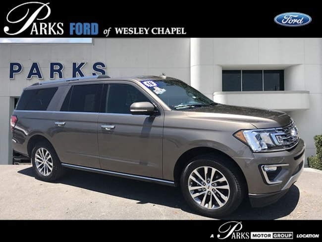 Certified Pre-Owned 2018 Ford Expedition Max Limited Limited 4x4 in Wesley Chapel, FL