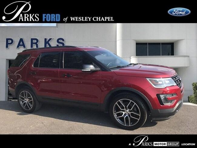 Certified Pre-Owned 2016 Ford Explorer Sport 4WD  Sport in Wesley Chapel, FL