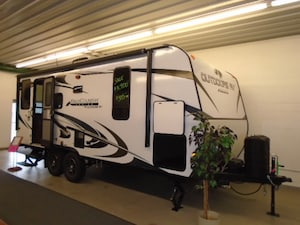 2018 OUTDOORS RV Black Rock 20 RD Back Country series