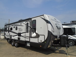 2018 OUTDOORS RV Timber Ridge 25 RDS Titanium series