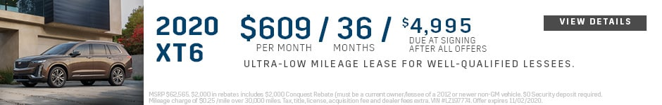 Oct. Low Lease XT6