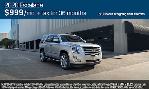 Jan Low Lease Escalade