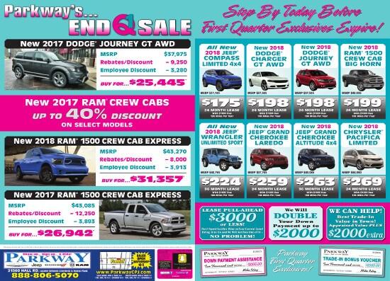 Contact Marick Auto Sales LLC: Parkway Chrysler Dodge Jeep RAM