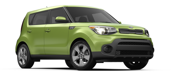 New 2018 Kia Soul LX at