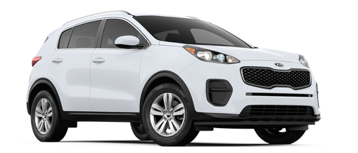 New 2017 Kia Sportage LX at