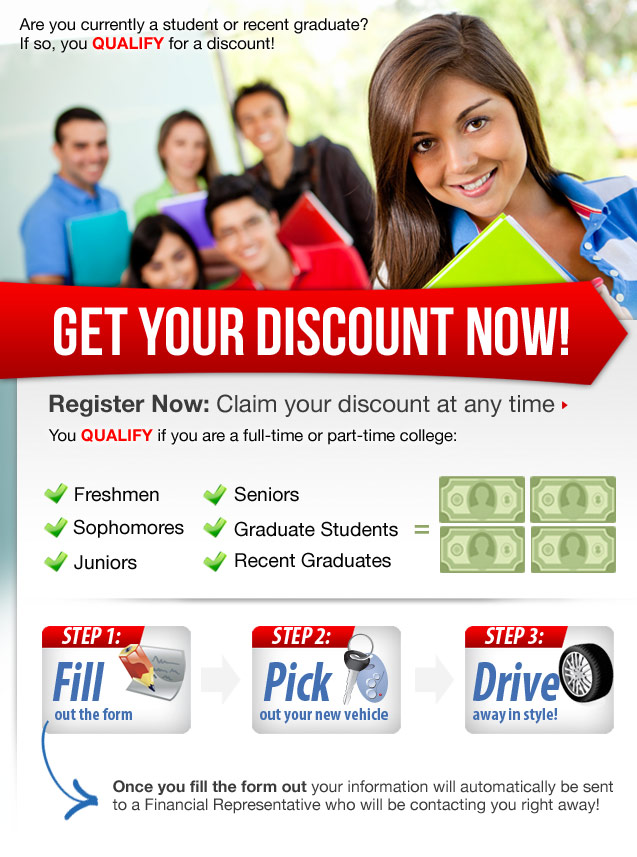 Student Discounts at Mazda Dealer in Kingwood TX