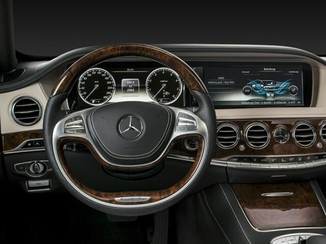 2017 Mercedes-Benz S-Class Steering Wheel